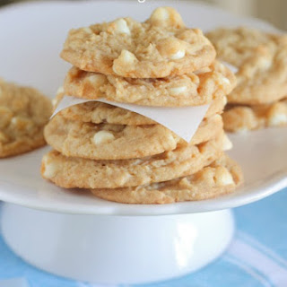 White Chocolate Lemon Pudding Cookies.