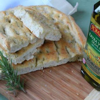 Herb Focaccia Bread ~ Guest Post~