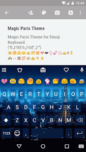 Magic Paris Emoji Keyboard screenshot 0