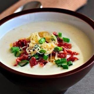 Thick Creamy Potato Soup.