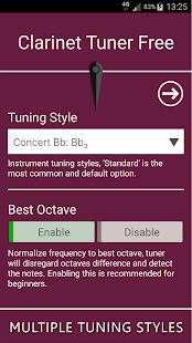 Download Full Clarinet Tuner Free 12.0 APK