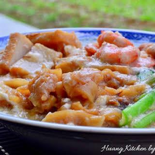 Wat Tan Hor (Flat Rice Noodles in Egg Gravy) 滑蛋河.