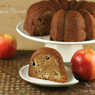 Moosewood's Fresh Apple Spice Bundt Cake