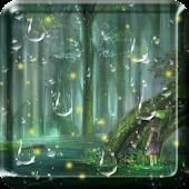 Fireflies Drops Live Wallpaper