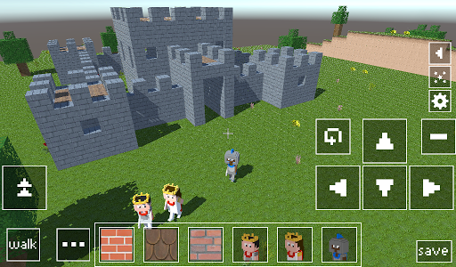 Castle Craft: Knight and Princess apkpoly screenshots 8