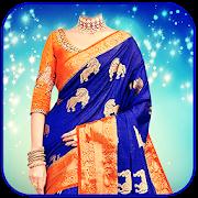 Women Saree Photo Suit : Royal Traditional Suit
