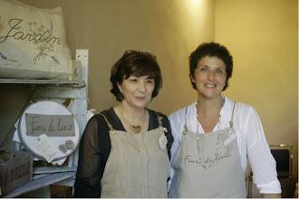 Photo: Patty e Daria di Fiori di Lino