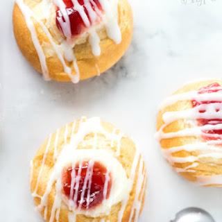 Easy Cherry Cheese Danish Recipe