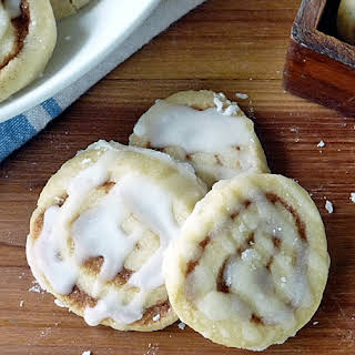 Cinnamon Roll Cookies.