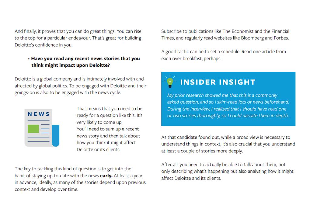 Deloitte Interview Guide Excerpt - Chapter 6