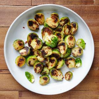 Sweet and Savory Pan-Seared Brussels Sprouts
