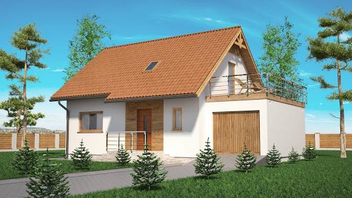 projekt Domek Na Miodowej