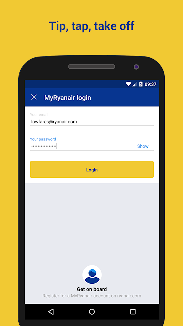 #2. Ryanair - Cheapest Fares (Android)