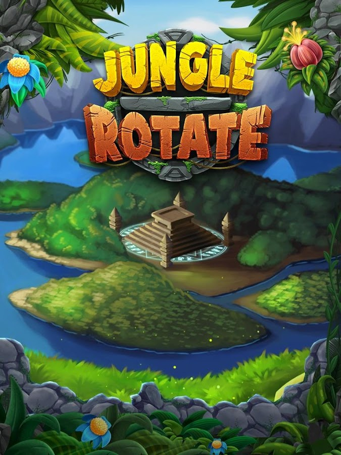 Jungle Jewels Rotate!- screenshot