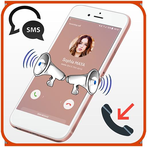 Caller name & SMS sender talker