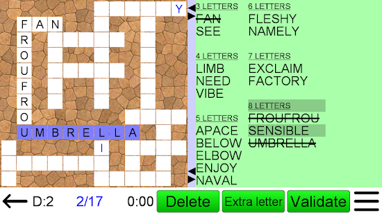 Word Fit Puzzle- screenshot thumbnail