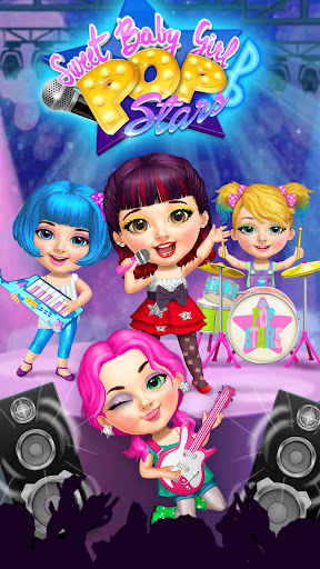 Sweet Baby Girl Pop Stars - Superstar Salon & Show 3.0.10002 screenshots 2