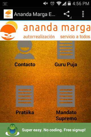 Ananda Marga Esenciales- screenshot