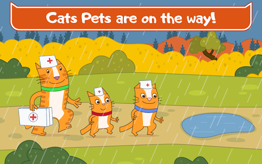Cats Pets Animal Doctor Games for Kids! Pet doctor  screenshots 18