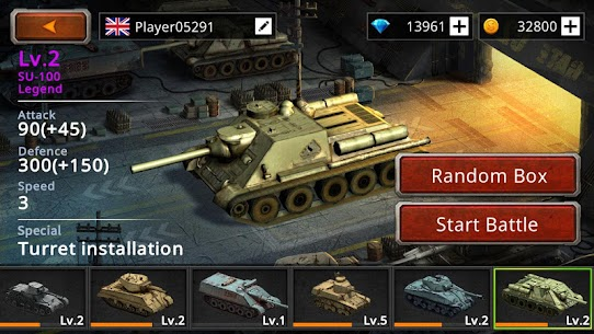 Battle Tank 2 Mod Apk (Unlimited Money) 5