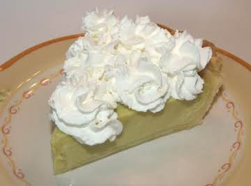 Kelly's Rich and Creamy Key Lime Pie