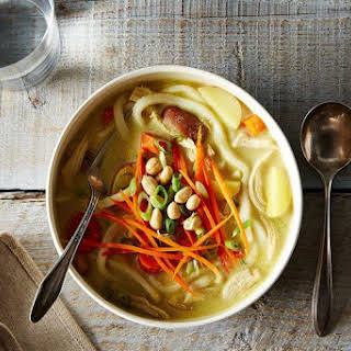 Massaman-Inspired Chicken Noodle Soup.