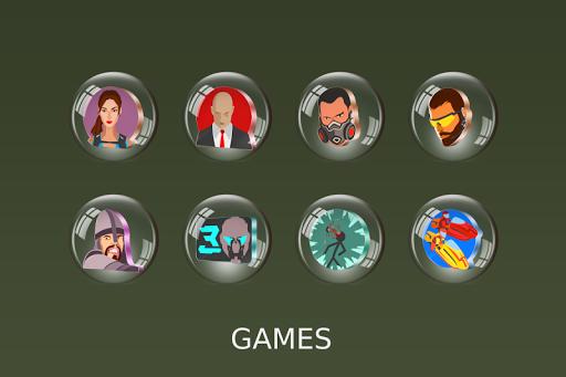 Glass 3D Icon Pack  screenshots 12