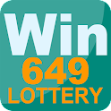 Win649 - lottery app icon