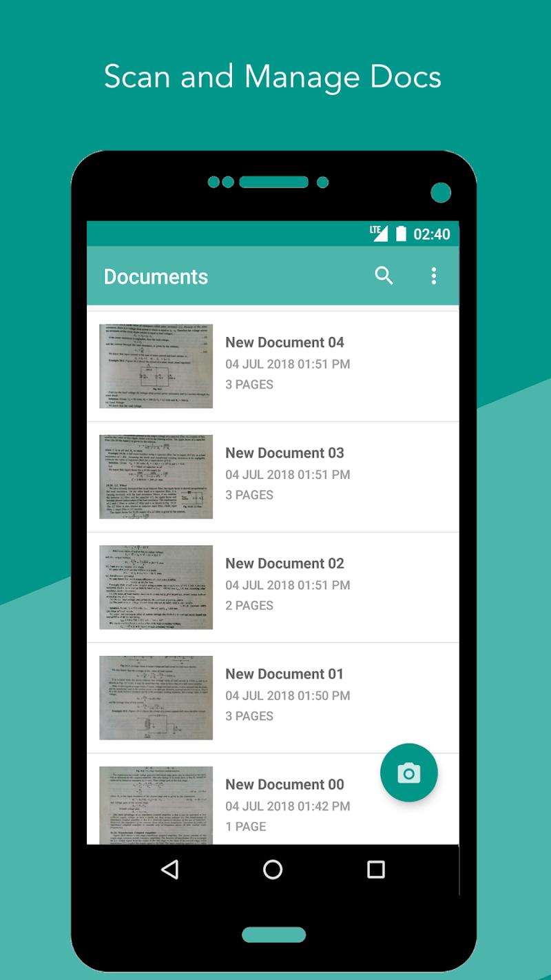 Smart Scan : PDF Scanner Screenshot 0