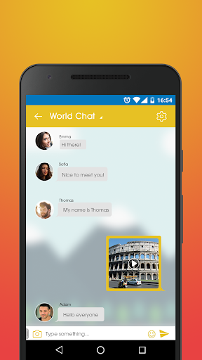 Italy Social - Chat & Meet Italians on Dating App screenshots 4