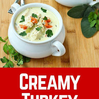 Creamy Turkey Soup with Quinoa