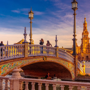 plaza españa sunset, Sevilla3.jpg