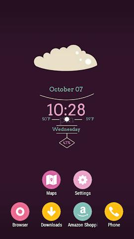 android Sugar Brownie Theme Screenshot 1