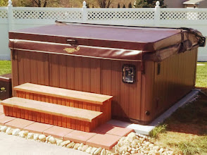 Photo: When our daughter asked if our hot tub would be installed and ready for a soccer team party in a week, her dream came true thanks to EZ Pad. With the quick, easy ordering, fast shipping and simple installation, the tub was ready to go!   Thank you for a painless and quick home project!   Viola P New cumberland, PA