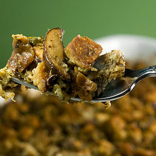 Oyster, Mushroom, Bacon and Rye Stuffing