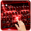 Red Lightning Keyboard Theme icon