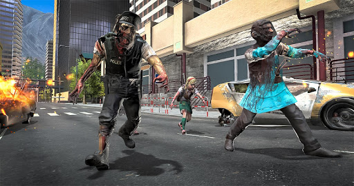Zombie Attack Games 2019 - Zombie Crime City screenshots 6