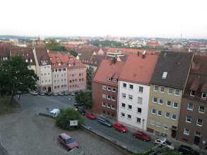 Photo: Looking down on Nurnberg from the Imperial Castle