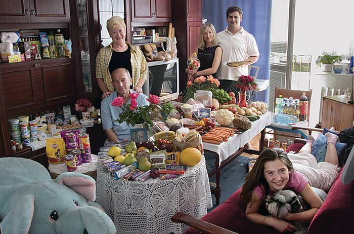 oi6B3MjlqjMjNDgaiunw9QSXsS2sqK7tFsmpjMesdZg=w700 h462 no - Недельный запас еды для семьи в разных странах мира (фото)