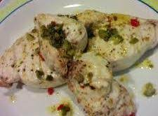 Swordfish Steaks With Caper Butter Sauce Recipe