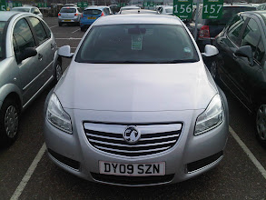 Photo: I Get a Manual Diesel Vauxhall Rental Car!