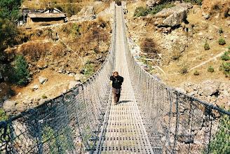 Photo: eine der unzähligen aber guten Hängebrücken