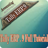 Tally ERP 9 Full Video Tutorials