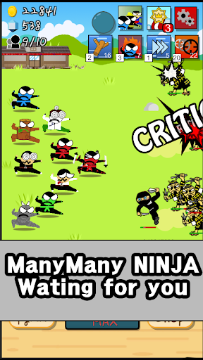 Ninja Growth - Brand new clicker game 1.8 screenshots 3