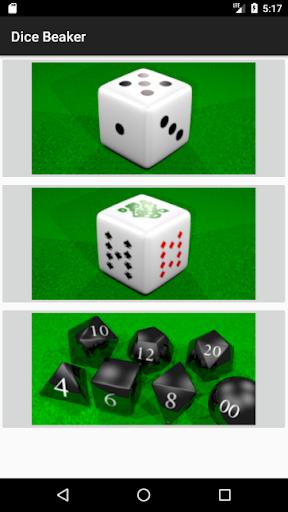 Dice Beaker 1.7 screenshots 3