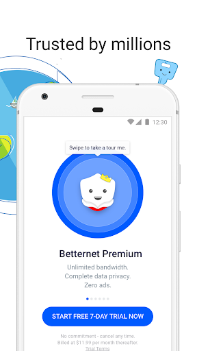 VPN Free - Betternet Hotspot VPN & Private Browser 5.6.2 screenshots 4