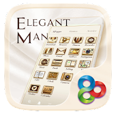 Elegant Man GO Launcher Theme