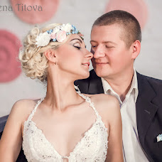 Wedding photographer Elena Titova (Elena62). Photo of 03.12.2015