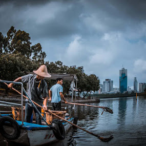 Cleaners by Jaguar Ricko - Landscapes Waterscapes