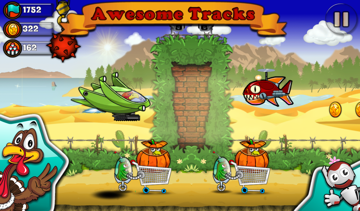 Crazy Turkey Run Shooting Game - Android Apps on Google Play